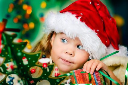Sprechende Weihnachtsgrußkarte
